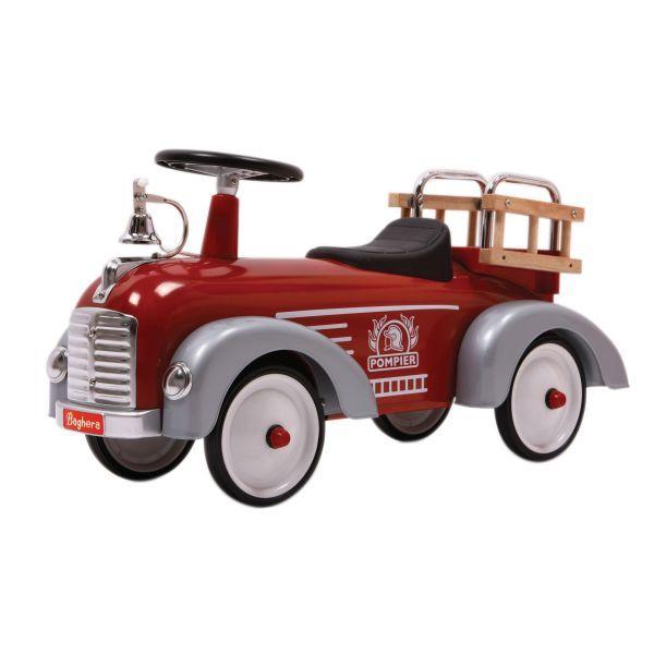 Gåbil Fire Engine Speedster Sparkbilar i plåt från Etrendstore.se