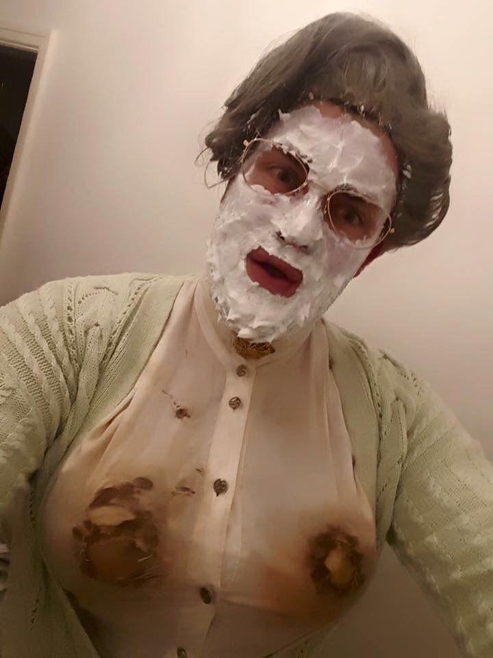 Next years halloween costume. Mrs. Doubtfire