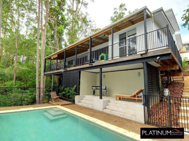 Cooroy 205 split level design with added leisure area underneath | Tru-Built Builders Queensland