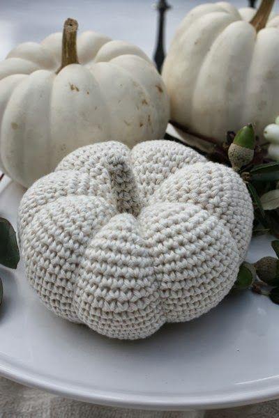 crochet pumpkin                                                                                                                                                     More