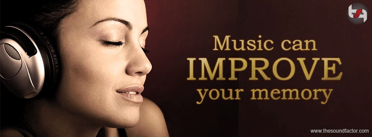Music can improve your memory!