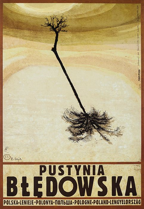 Ryszard Kaja, Polska - PUSTYNIA BŁĘDOWSKA, 2012, Size: B1