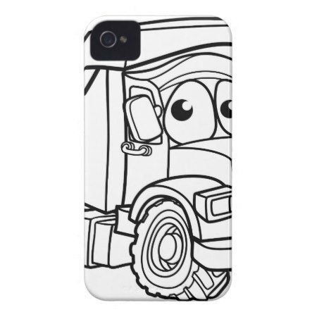 Cartoon Character Dump Truck iPhone 4 Case - click to get yours right now!