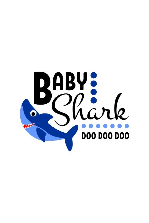 Baby Shark Birthday Svg Free : shark, birthday, Funny, Shark, Bundle, Onesie, Announcement, Babies,, Shark,