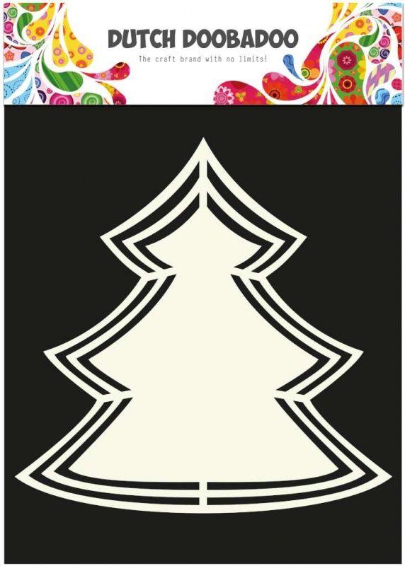 Dutch Doobadoo Shape Art frames Kerstboom [470713117]