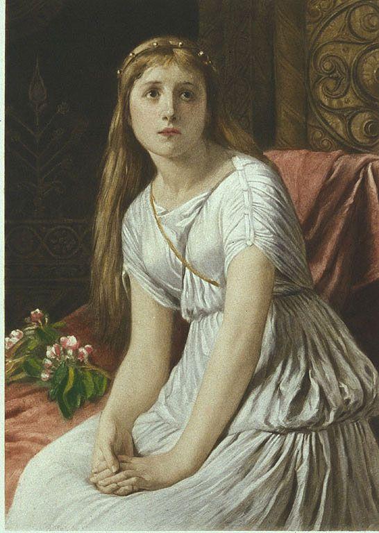 William Frederick Yeames, Cordelia (1888)