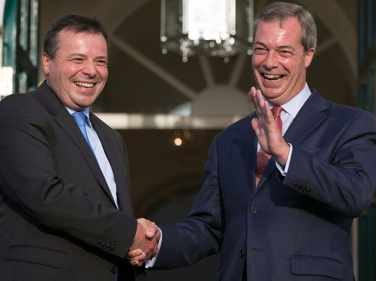 Nigel Farage's Leave.EU wants an inquiry to end 'laughable' theories that Russia meddled in Brexit