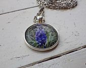 Flowers of Ireland Necklace -- Bluebells