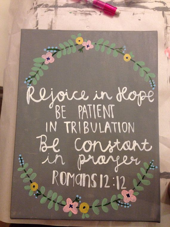 Made to order// Hand painted scripture by LaurenElizabethClark, $12.00