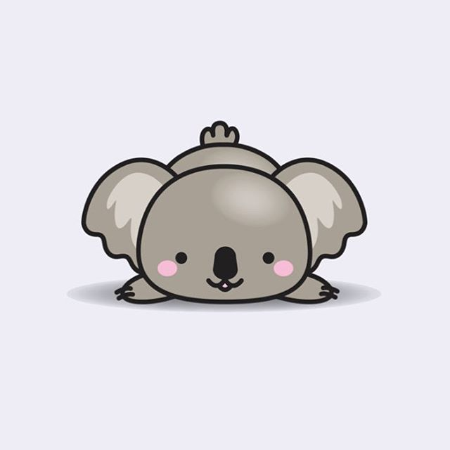 Aaaah so kawaii!! | koala universe | Cute animal drawings ...