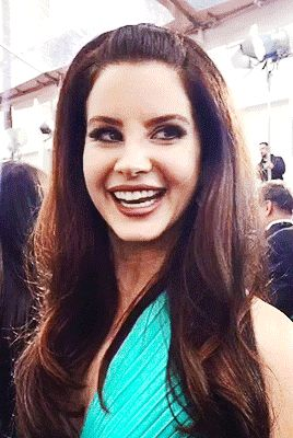 Lana Del Rey at the 2015 Golden Globe Awards