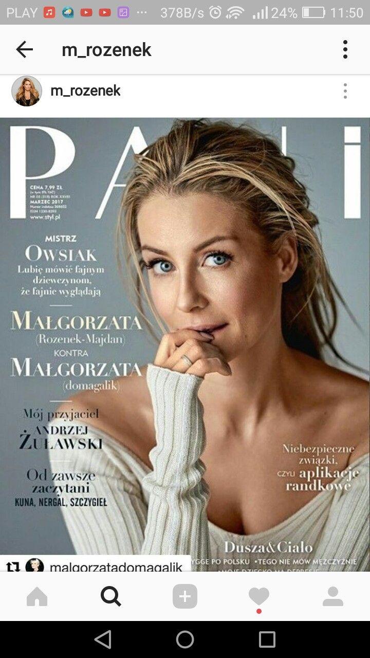 PANI marzec 2017 okładka Małgorzata Rozenek- Majdan