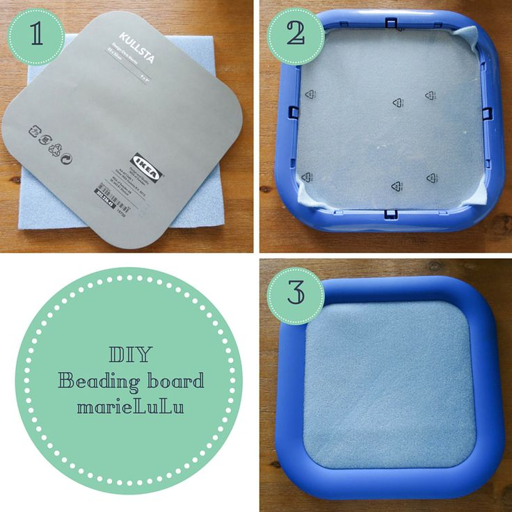 Diy Beading Board Although This Is A German Language Site