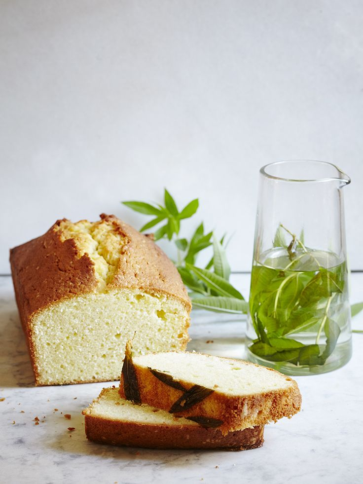 LEMON VERBENA POUND CAKE
