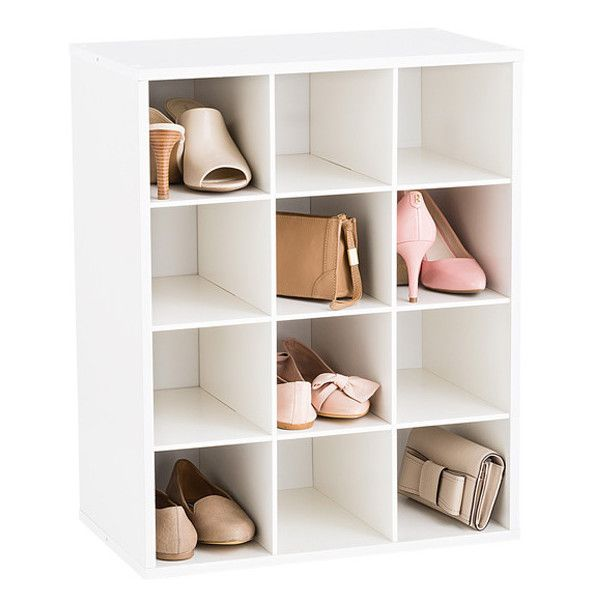 12 Pair Shoe Organizer ($40) ❤ Liked On Polyvore Featuring Home, Home