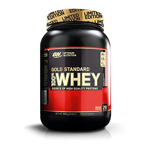 From 17.99 Optimum Nutrition Gold Standard Whey Protein Powders White Chocolate Raspberry 908 G