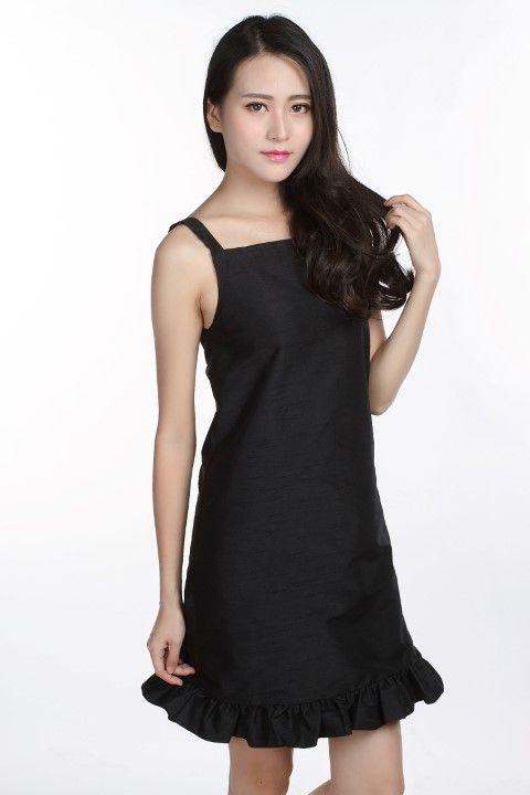 Dress CONCORDE Black licorice - EmKha