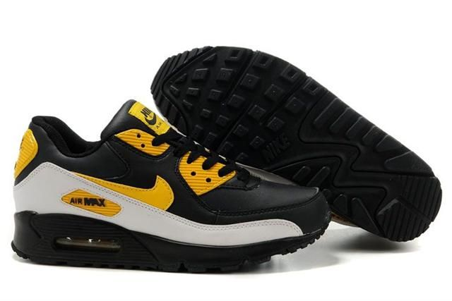 http://www.airgriffeymax.com/nike-air-max-90-black-white-yellow-p-256.html Only$71.55 #NIKE AIR MAX 90 BLACK WHITE YELLOW #Free #Shipping!