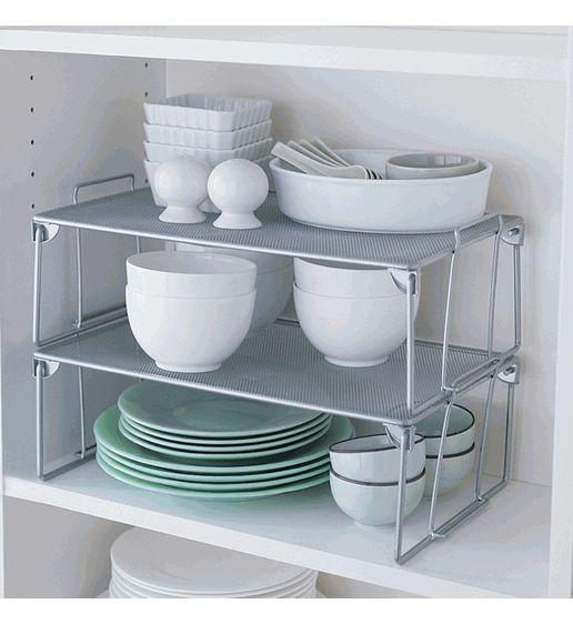 folding mesh stacking shelf large stacking shelves turn one shelf into three or four