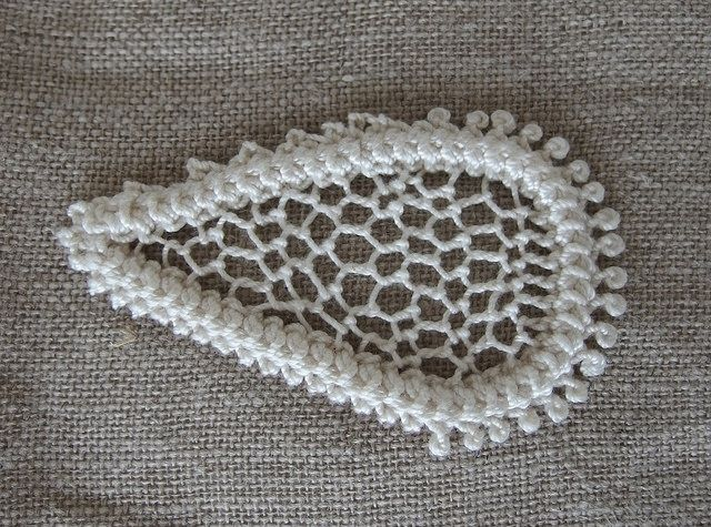 exercise in Romanian point lace