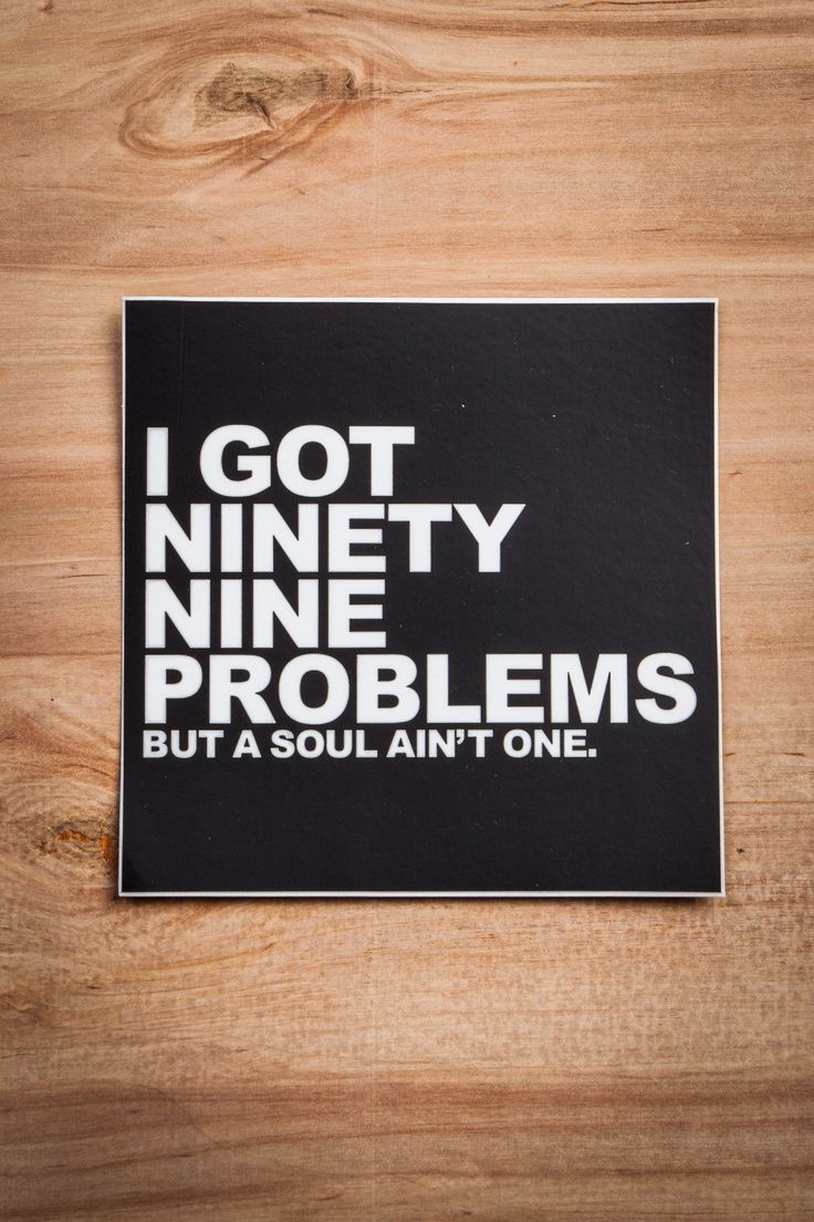 Ninety-Nine Problems Sticker Ginger Problems - Red Hair Don't Care