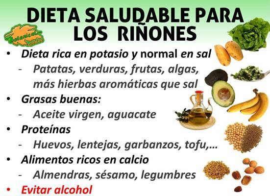 Dieta para los ri ones alimentos buenos recomendados for Alimentos prohibidos para insuficiencia renal
