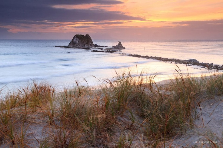 Sunrise at Mangawhai Heads