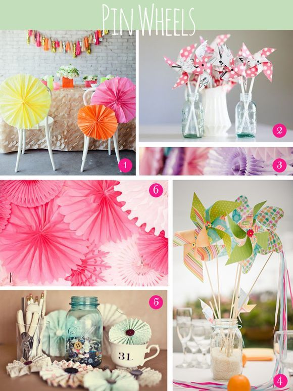 9 best images about A whole board for pinwheels because I love ...