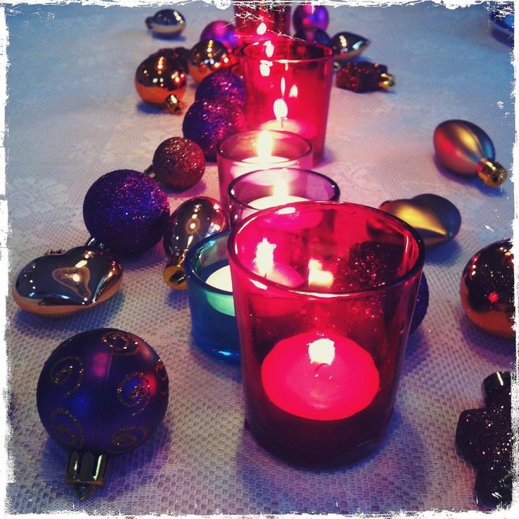 kerst tafel decoratie