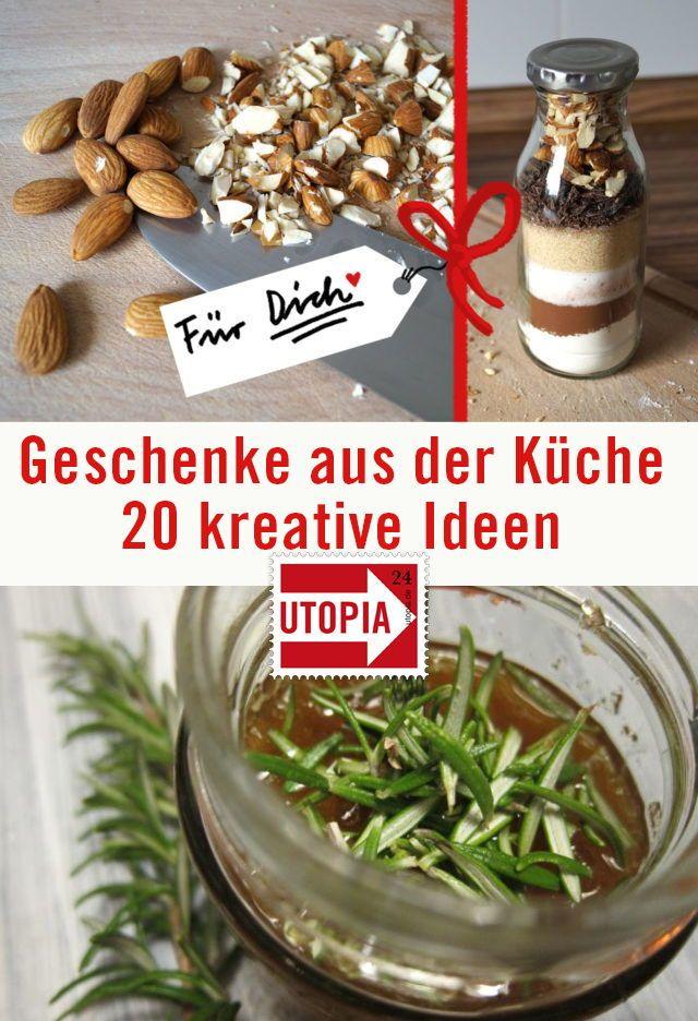 Selbstgemachte Geschenke aus der Küche: 15 Ideen