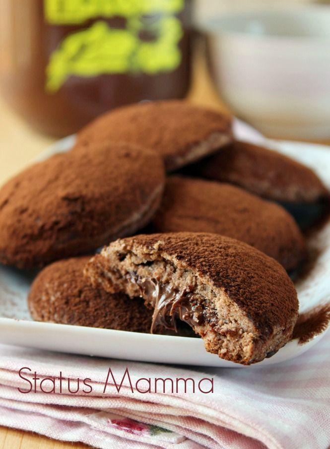 Crisbì alla Nutella ricetta biscotti   ♥