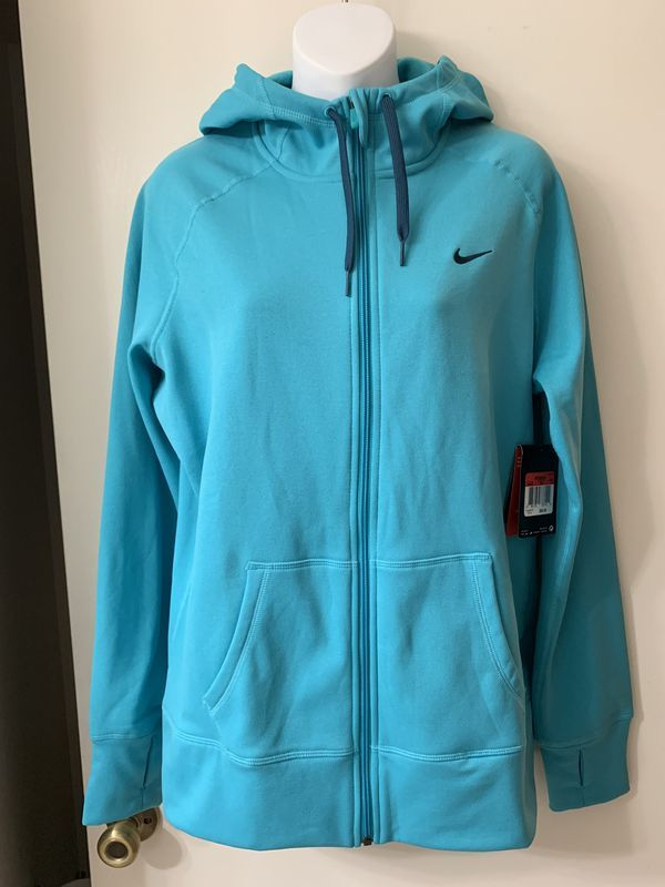 Nike Women's THERMA FIT Full Zip Hoodie Size Large NWT in