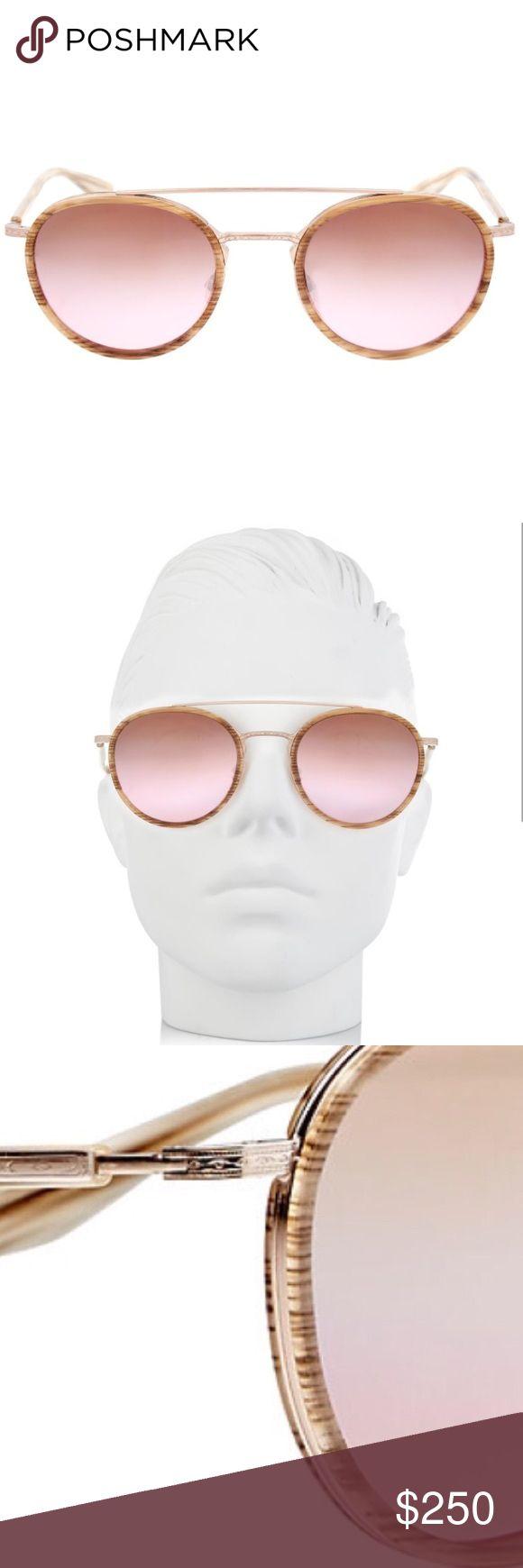 Barton Perreira Justice Rose Gold Sunglasses! Round Barton Perreira Justice Sunglasses! Rose gold coloring. Gradient style lens. Accessories Sunglasses