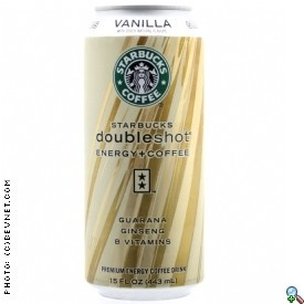 To get the party started. And keep it going! Starbucks Doubleshot Energy + Coffee