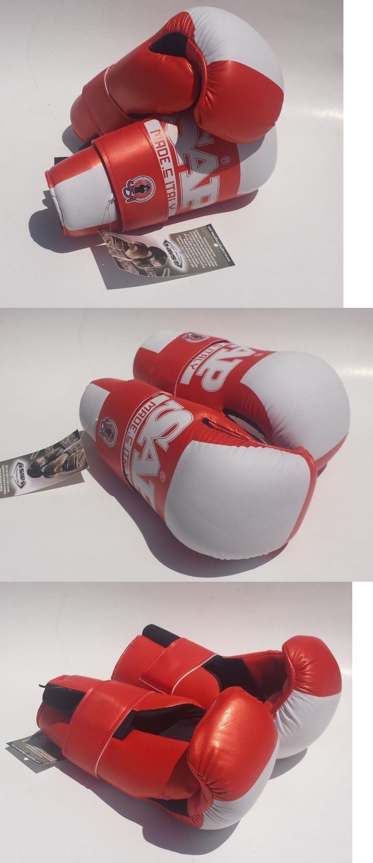 Other Combat Sport Protection 179783: Sap Fighting Tribe Karate Sparring Gloves Orange White Open Hand Pads Size M -> BUY IT NOW ONLY: $30 on eBay!