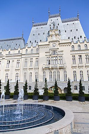 The Culture Palace ~ Iasi, Romania