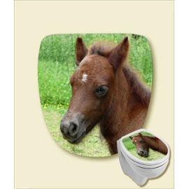 Sticker Lunette Abattant Wc Poney Shet Pony Déco