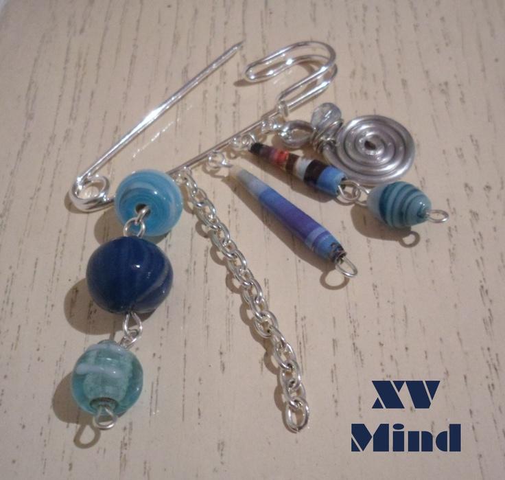"XV Mind: Spilla ""Cielo"""