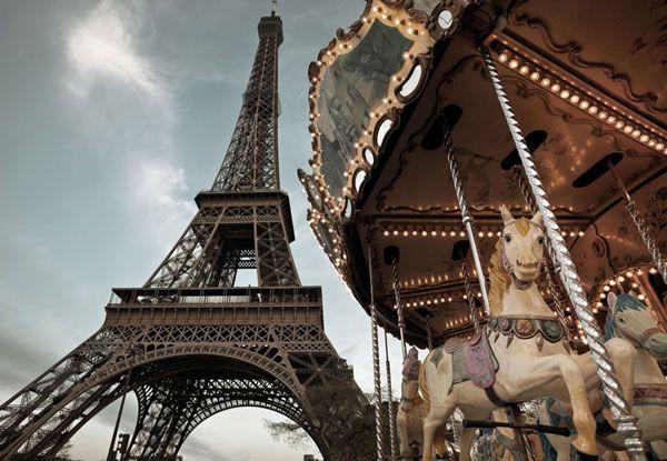 Carosello di Parigi #poster #illustration
