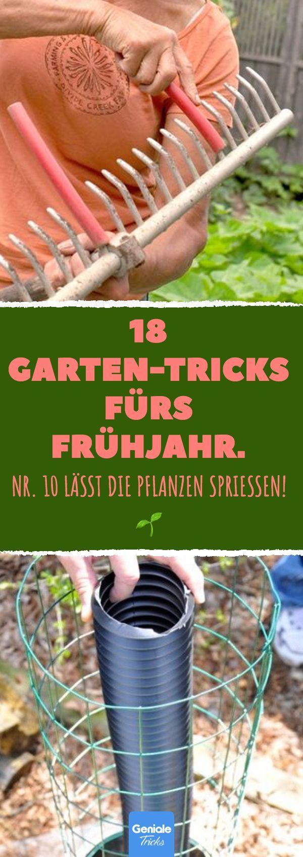 18 Gartentricks für den Frühling. 18 Tipps und Tricks zum Gärtnern im