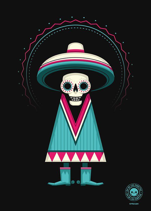 Dia de Los Muertos on Behance