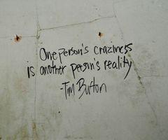 Tattoo Ideas, Inspiration, Tattoo Quotes, True, Personalized Reality, Personalized Crazy, Things, Tim Burton, Timburton