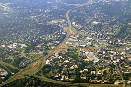 Fairfax City in Fairfax County, VA