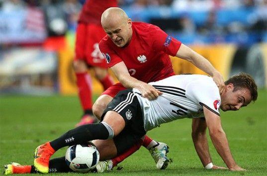 Евро-2016: сборная Германии и Польши сыграли по нулям, обзор матча (ВИДЕО)