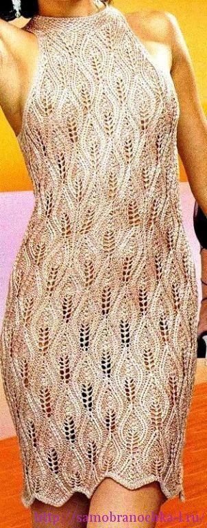 Ажурные платья спицами   Вязание: Спицами   Постила