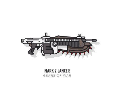 Game Guns - Gears of War