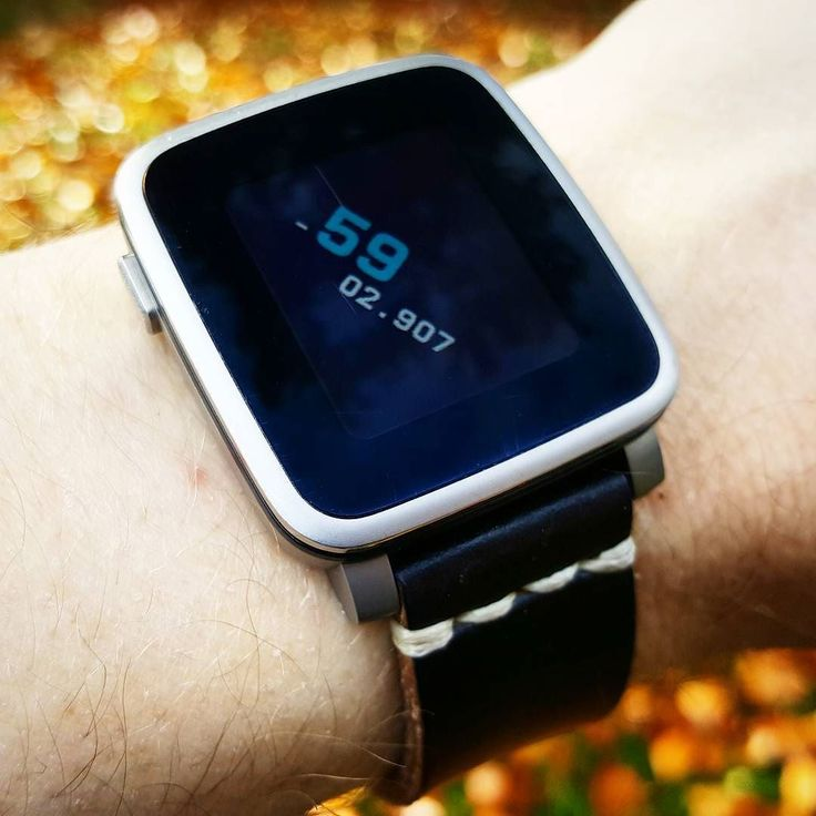 """colonttmm"" #Watchface by @ttmmaftertime with a black @primria_design #watchband on #PebbleTimeSteel #pebble #smartwatch #pebbletime #watchfaces Pebble Smartwatch Watchfaces"