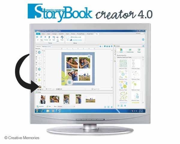StoryBook Creator 4.0. This easy-to-use software is for more than just scrapbooking. Create anything from photo books, greeting cards and page prints to custom photo gifts.