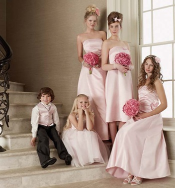Bhs Pink Bridesmaid Girls Dresses