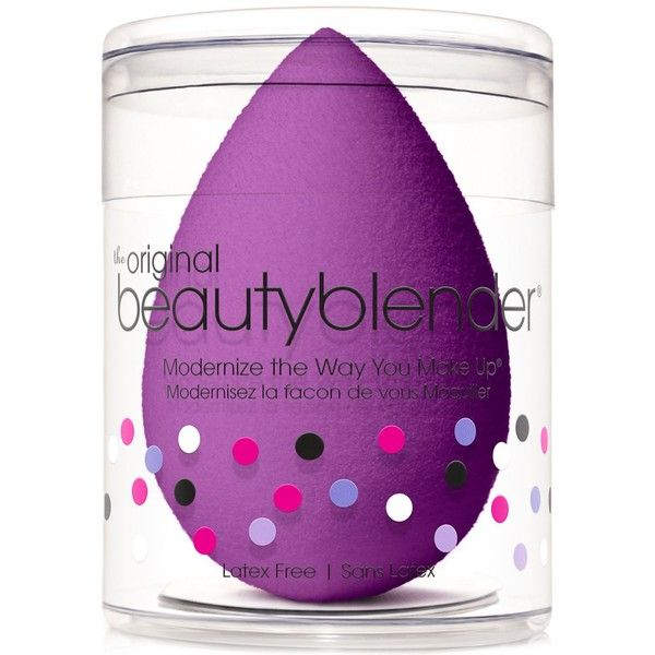 beautyblender royal makeup sponge applicator ($20) ❤ liked on Polyvore featuring beauty products, makeup, makeup tools, beauty, no color and beautyblender